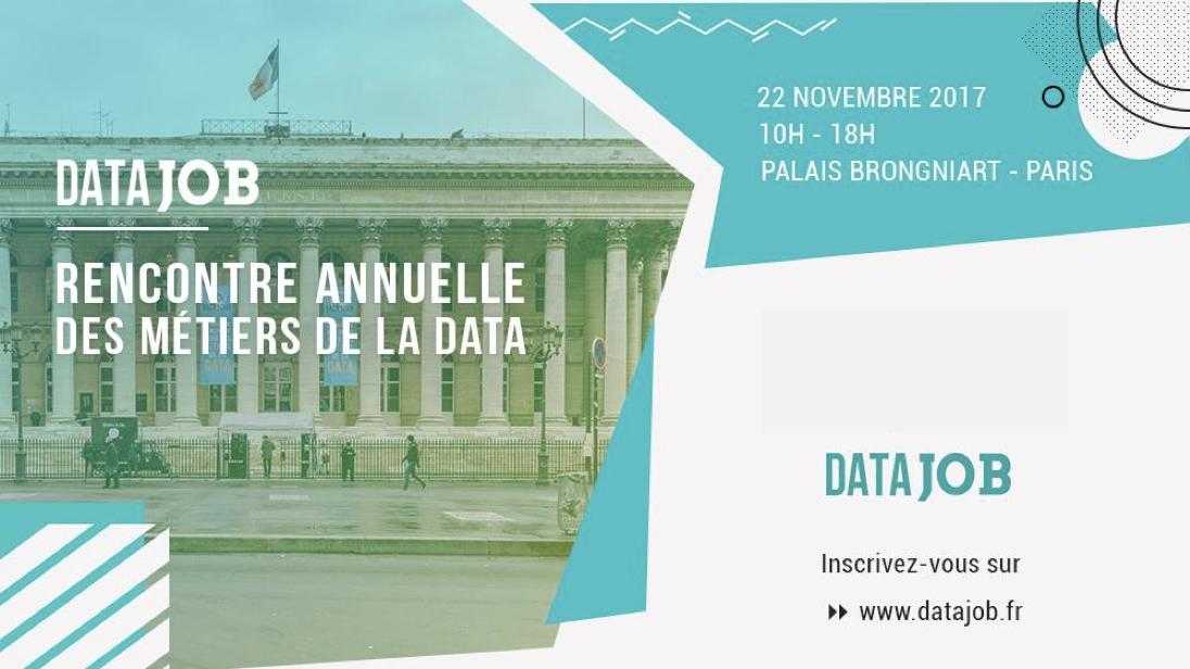 AMAYAS Consulting à la 5e édition du Forum Datajob le 22 novembre