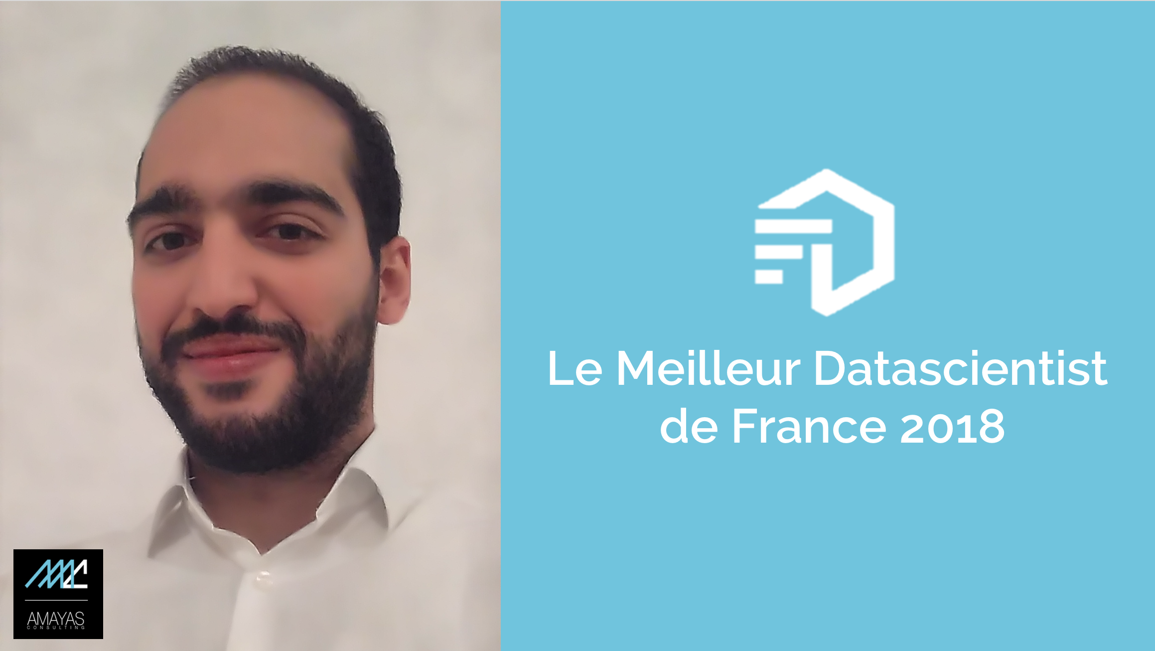 Entretien avec Sami ASSILI, consultant AMAYAS Consulting, qui entre dans le top 10% du challenge des Meilleurs Datascientists de France