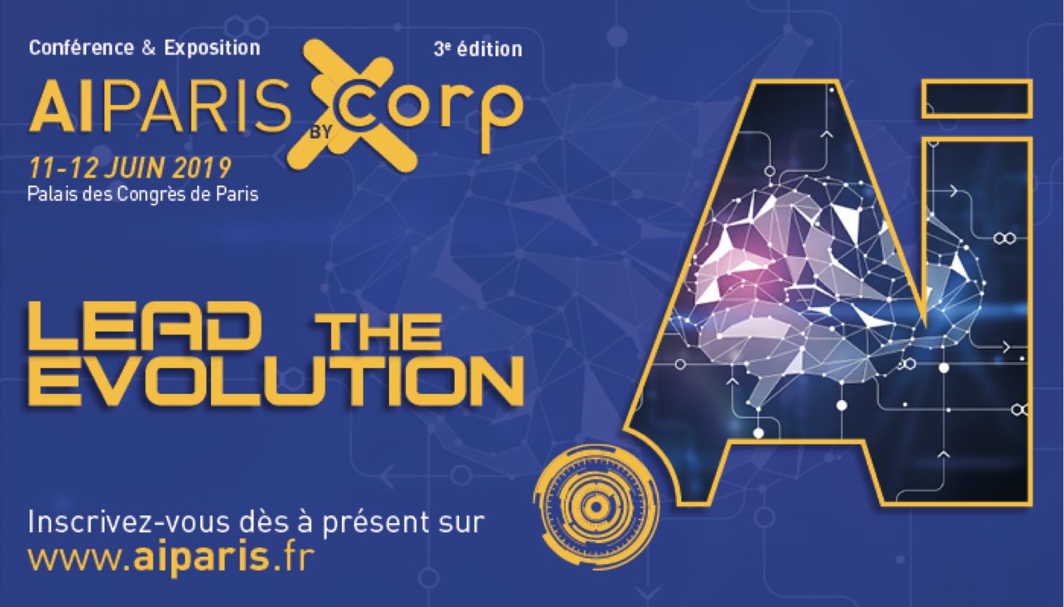 Retrouvez AMAYAS Consulting au AI by CORP les 11 et 12 juin 2019 au Palais des Congrès à Paris !